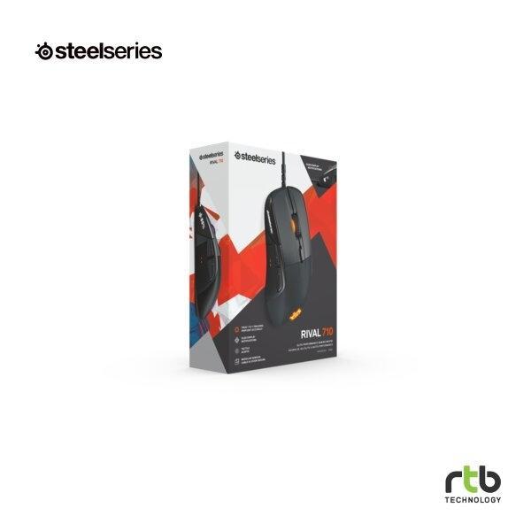 SteelSeries เมาท์เกมส์มิ่ง RIVAL 710 GAMING MOUSE - BLACK