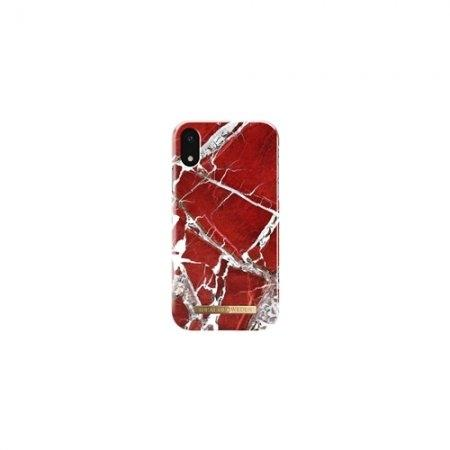iDeal of Sweden Fashion Case S/S 18 iPhone XR - Scarlet Red Marble