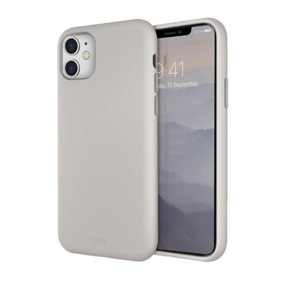 Uniq เคส iPhone 11, 11 Pro, 11 Pro Max รุ่น Lino Hue - Beige (Ivory)