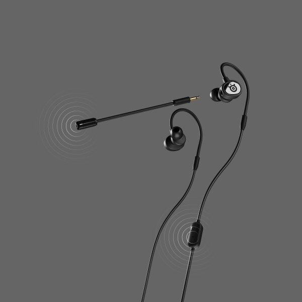 SteelSeries หูฟังเกมมิ่ง รุ่น Tusq - Black