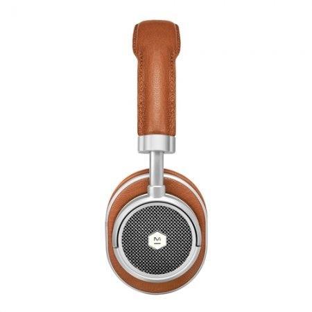 หูฟังบลูทูธไร้สาย MW50+ - BROWN/SILVER