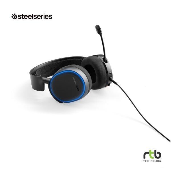 SteelSeries หูฟังเกมมิ่ง 7.1 รุ่น Arctis 5 RGB