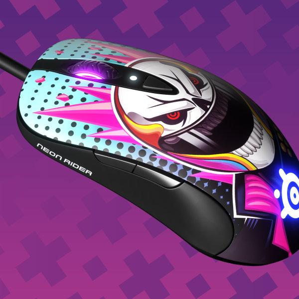 SteelSeries เมาส์เกมมิ่ง รุ่น Sensei Ten Neon Rider Edition Gaming Mouse