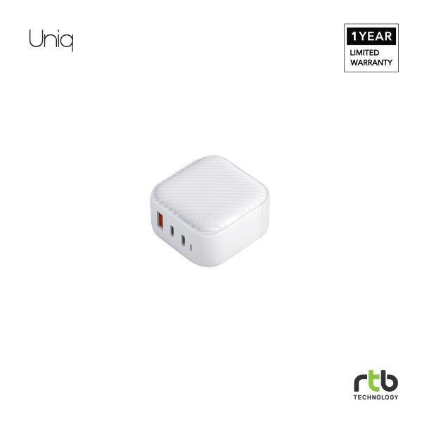 Uniq อะแดปเตอร์ Adapter Wall Charger USB-C (US) รุ่น Verge Pro 66W GAN