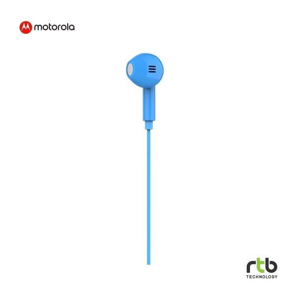 Motorola หูฟัง Earbud รุ่น Pace 145 - Blue