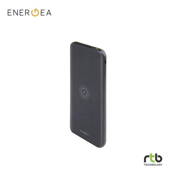 Energea Power Bank EnerPac 8000mAh WPF Wireless Charging - Black
