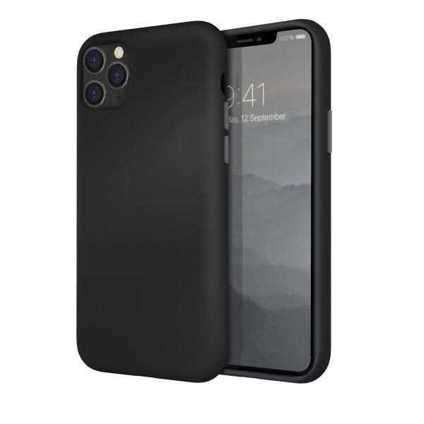 Uniq เคส iPhone 11, 11 Pro, 11 Pro Max รุ่น Lino Hue - Black