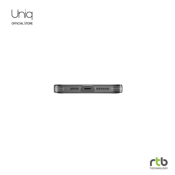 Uniq Hybrid เคส iPhone 12 PRO MAX(6.7) Anti Microbial รุ่น Air Fender - Smoke Grey