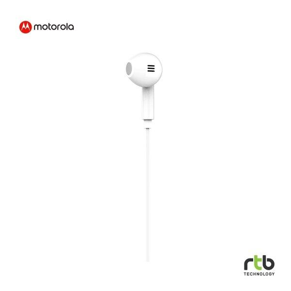 Motorola หูฟัง Earbud รุ่น Pace 145 - White