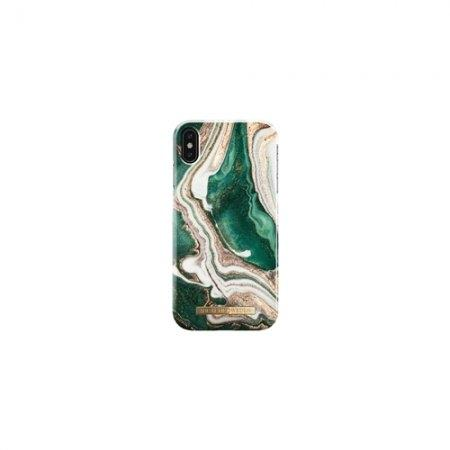 iDeal of Sweden Fashion Case A/W 18 iPhone XS Max - Golden Jade Marble