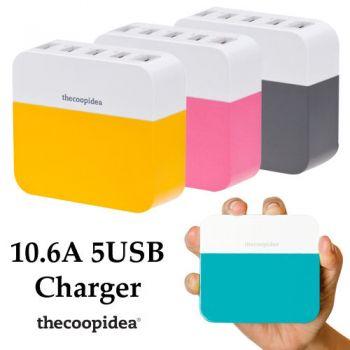 ที่ชาร์จ Thecoopidea Power Block 10.6A
