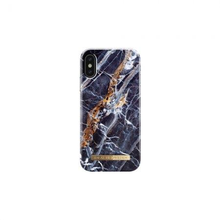 iDeal of Sweden Fashion Case A/W 17 iPhone X - Midnight Blue Marble