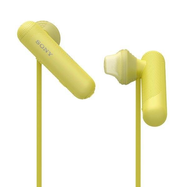 Sony หูฟังไร้สาย รุ่น WI SP500 - Yellow