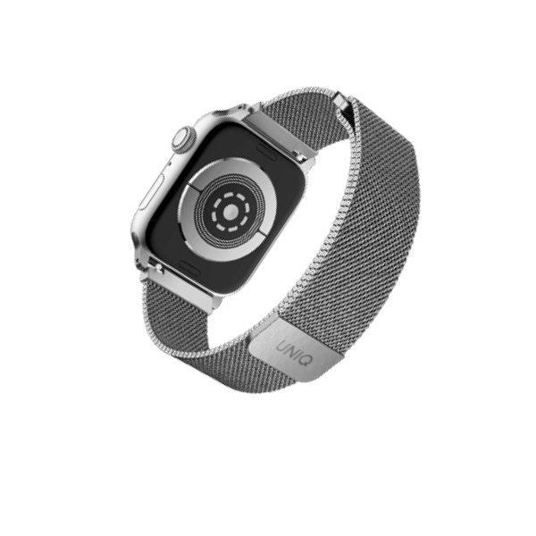 Uniq สาย Apple Watch Stainless steel 44mm รุ่น Dante - Silver