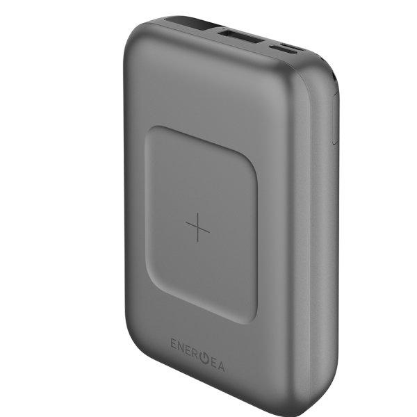 ENERGEA Power Bank รุ่น Compac Wireless PD 18W 10000MAH - Gunmetal