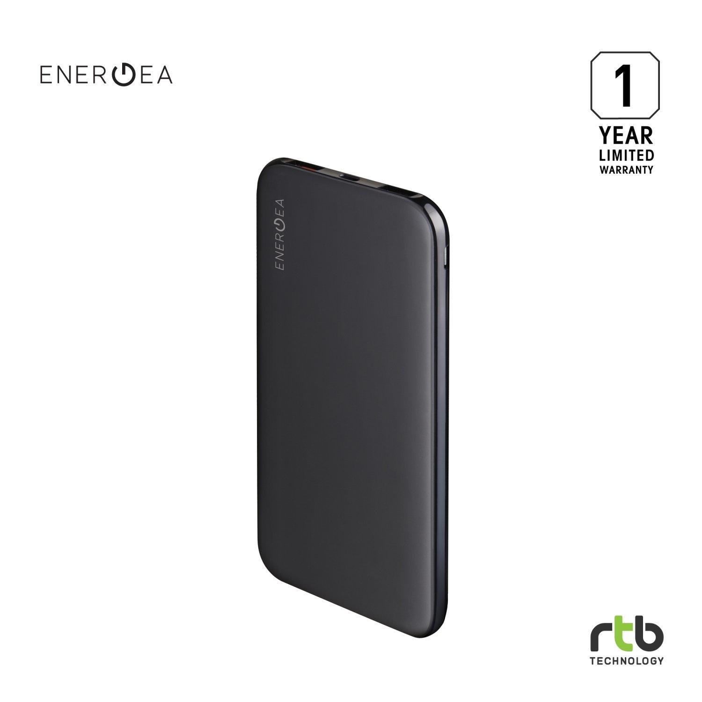 Energea Power Bank รุ่น SlimPac PQ1201 10000mAh Li-Lon QC3.0 - Black