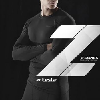 {Z Series} เสื้อแขนยาวกระชับกล้ามเนื้อ TM-R11-BLKZ
