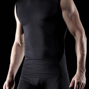{Z Series} เสื้อแขนกุดรัดกล้ามเนื้อ TM-R15-BLKZ