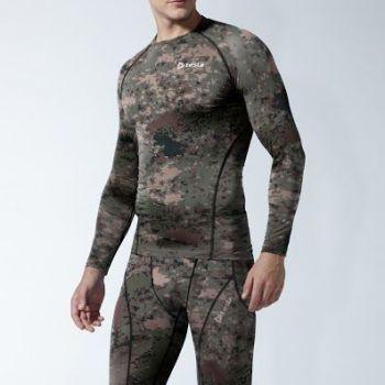 เสื้อคอกลมแขนยาวกระชับกล้ามเนื้อ TM-R11-PCK