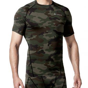{Z Series} เสื้อคอกลมแขนสั้นกระชับกล้ามเนื้อ TM-R13-COKZ