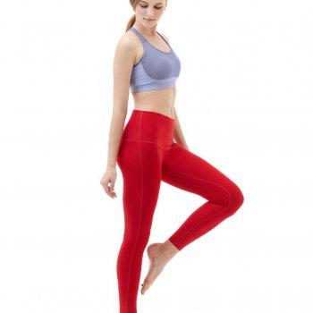CWYP42-RED: ขายาว ขอบเอวสูง (High Waist)