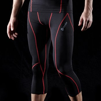 {Z Series} กางเกงขา 3/4 กระชับกล้ามเนื้อ TM-P15-BKRZ