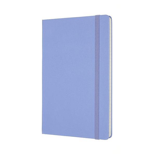 Moleskine สมุดบันทึก ปกแข็ง สีฟ้าไฮเดรนเยีย ขนาดใหญ่ 13x21 ซม MOLESKINE NOTEBOOK LARGE HARD COVER H.BLUE 13X21 CM