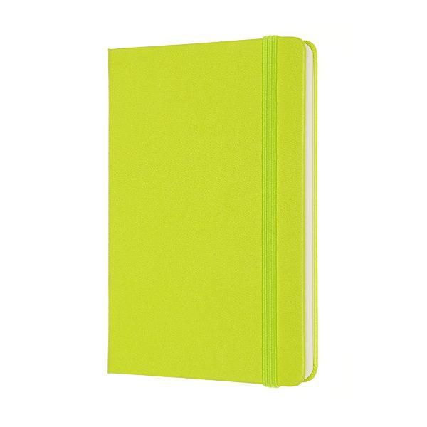 Moleskine สมุดบันทึก ปกแข็ง สีเขียวมะนาว ขนาดเล็ก 9x14 ซม MOLESKINE NOTEBOOK POCKET HARD COVER L.GREEN 9X14 CM