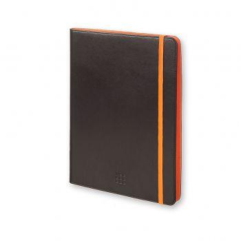 "Moleskine Bicolor Tablet Case Black/Orange 7-8"""