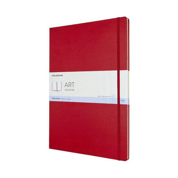 ARTBF851F2 Art Sketchbook A3 Scarlet Red