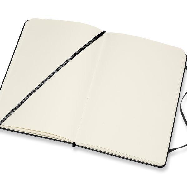 Moleskine สมุดบันทึก ปกแข็ง สีดำ ขนาดกลาง 11.5x18 ซม MOLESKINE NOTEBOOK MEDIUM HARD COVER BLACK 11.5X18 CM
