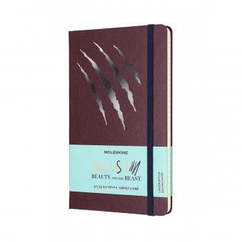 MOLESKINE LIMITED EDITION NOTEBOOK BEAUTY & BEAST LARGE RULED BEAST (SCRATCH)