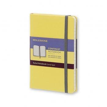 MOLESKINE Contrast Collection Pocket Ruled Hard Citron Yellow