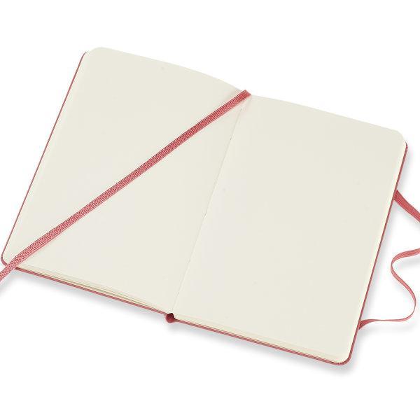 Moleskine สมุดบันทึก ปกแข็ง สีชมพู ขนาดเล็ก 9x14 ซม MOLESKINE NOTEBOOK POCKET HARD COVER D.PINK 9X14 CM