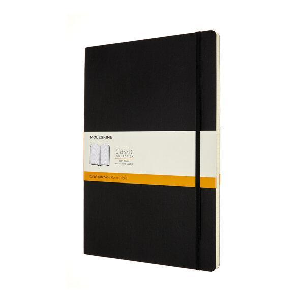 Moleskine สมุดบันทึก ปกอ่อน สีดำ ขนาด A4 MOLESKINE NOTEBOOK A4 SOFT COVER BLACK