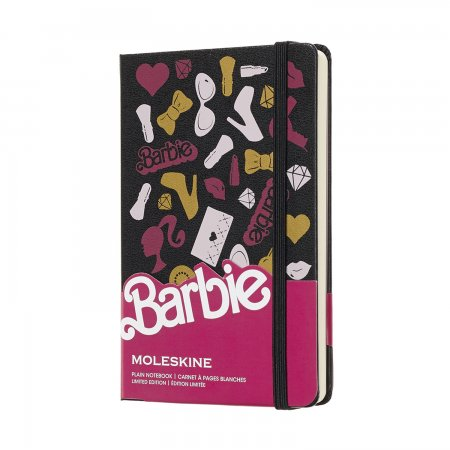 MOLESKINE BARBIE LIMITED EDITION NOTEBOOK POCKET PLAIN ACCESSORIES