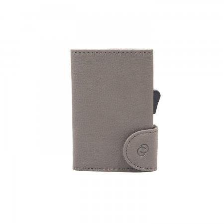 C-SECURE RFID Classic Wallet Siena/ Silver Card holder