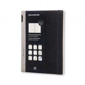 Moleskine Professional Notebook Extra Large Soft Black