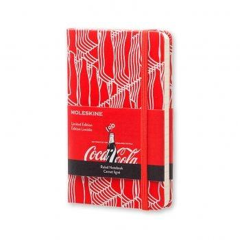 Moleskine Coca-Cola Limited Edition Ruled Notebook Pocket Hard Cover