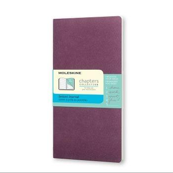 Moleskine Chapters Pocket Dotted Plum Purple Cpt024H8