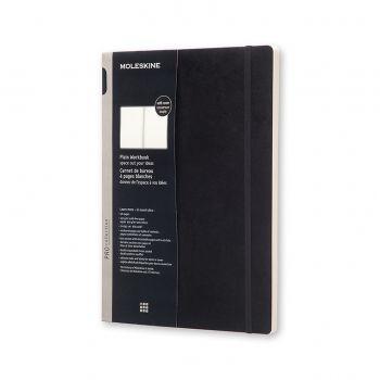 Moleskine Workbook Plain A4 Soft Black