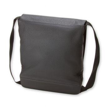 MOLESKINE CLASSIC LEATHER BAG REPORTER BLACK