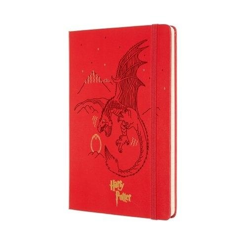 Moleskine Limited Edition Notebook Harry Potter Lg Ruled Geranium Red #04