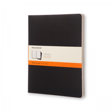 MOLESKINE CAHIER JOURNALS XXL RULED BLK QP331VF QP331VF
