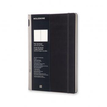 Moleskine Workbook Plain A4 Hard Black