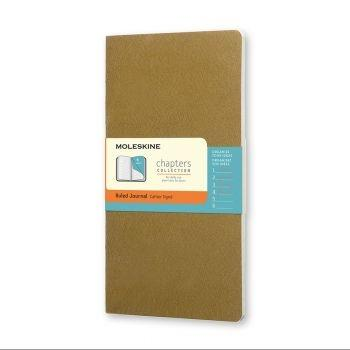 Moleskine Chapters M Ruled Tawny Olive Cpt061K10