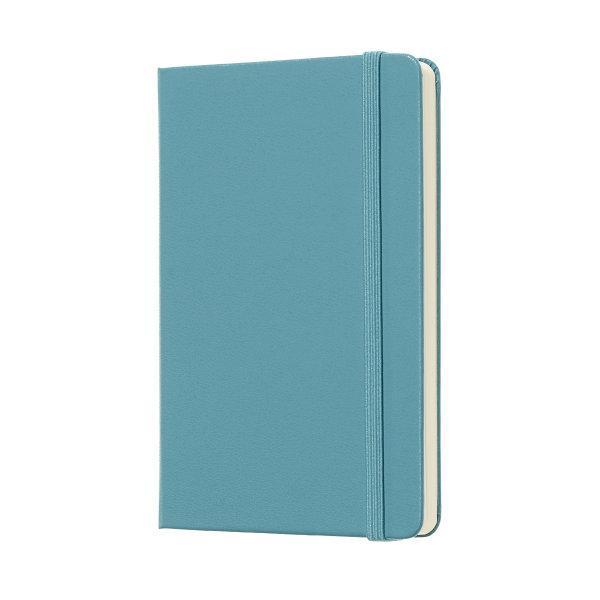 Moleskine สมุดบันทึก ปกแข็ง สีฟ้า ขนาดเล็ก 9x14 ซม MOLESKINE NOTEBOOK POCKET HARD COVER R.BLUE 9X14 CM