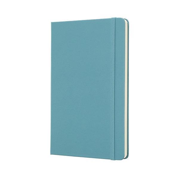 Moleskine สมุดบันทึก ปกแข็ง สีฟ้า ขนาดใหญ่ 13x21 ซม MOLESKINE NOTEBOOK LARGE HARD COVER R.BLUE 13X21 CM