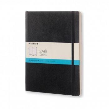 MOLESKINE NOTEBOOK XL DOT BLACK SOFT QP624F