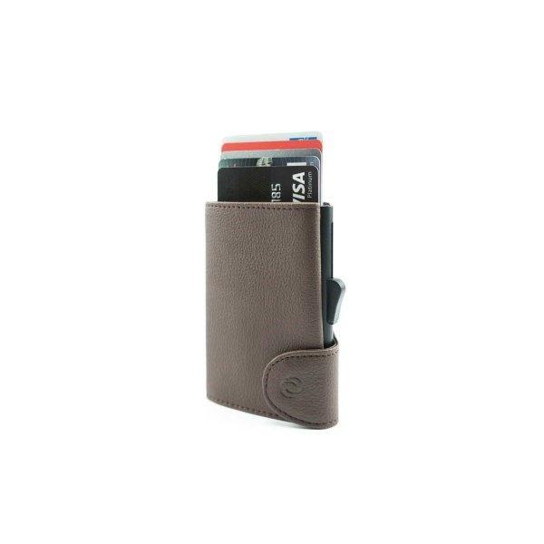 C-SECURE RFID Classic Wallet Dark Brown/ Black Card holder